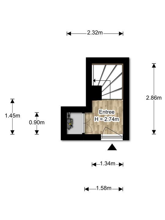Voorthuizenstraat 117, Den Haag floorplan-0