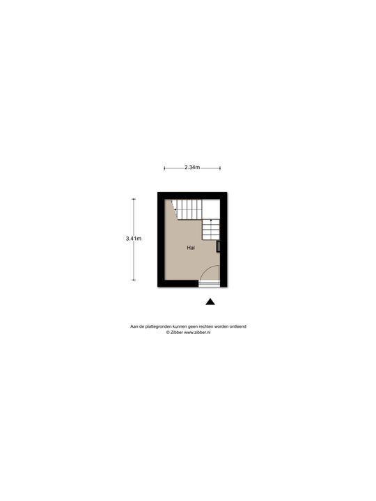 Newtonstraat 519, Den Haag floorplan-1