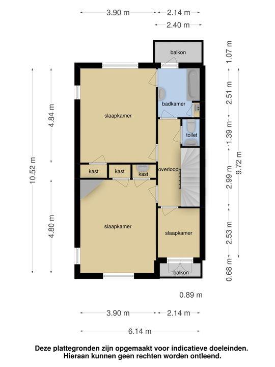 Park Vronesteyn 45, Voorburg floorplan-1