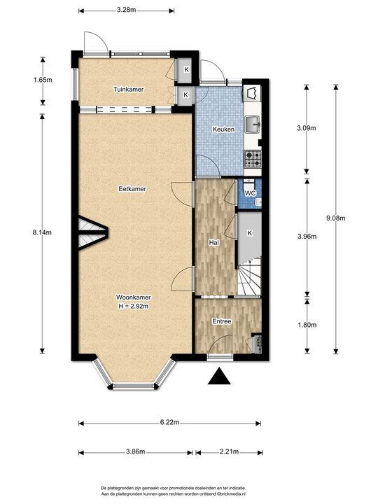 Weverslaan 31, Voorburg floorplan-0