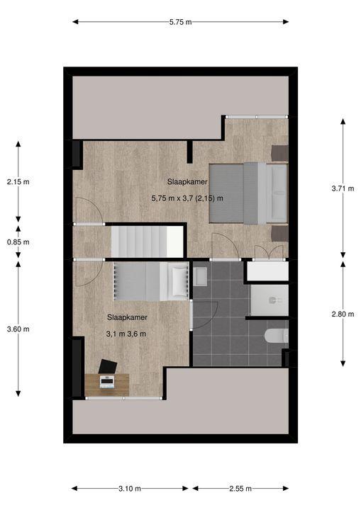 Eemwijkstraat 27, Voorburg floorplan-2