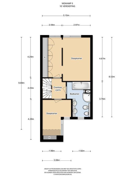 Weikamp 5, Leidschendam floorplan-1