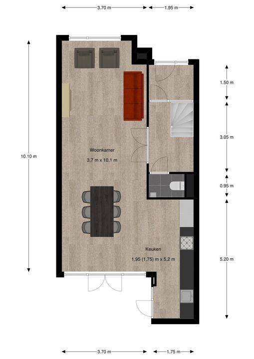Eemwijkstraat 27, Voorburg floorplan-0