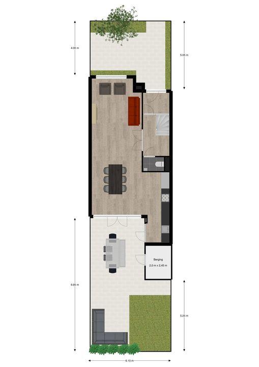 Eemwijkstraat 27, Voorburg floorplan-3