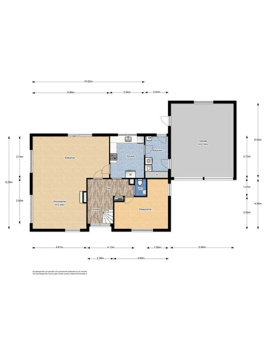 Warmonderhek 5, Warmond floorplan-0