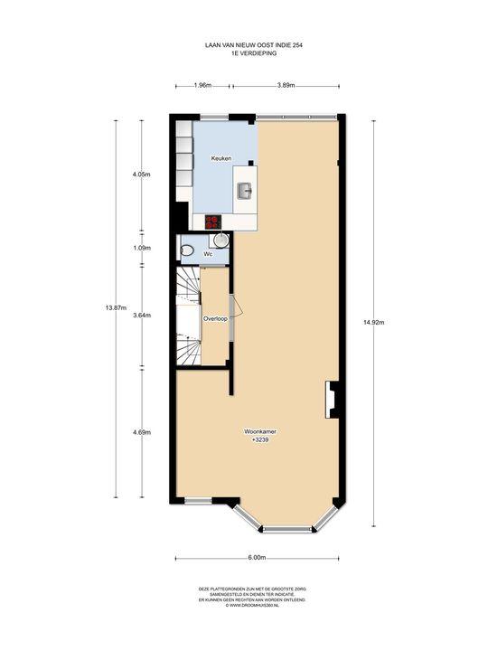 Laan van Nieuw-Oost-Indie 254, Den Haag floorplan-1