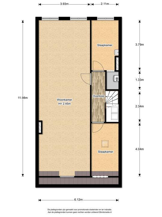 Koninginnelaan 11, Voorburg floorplan-2