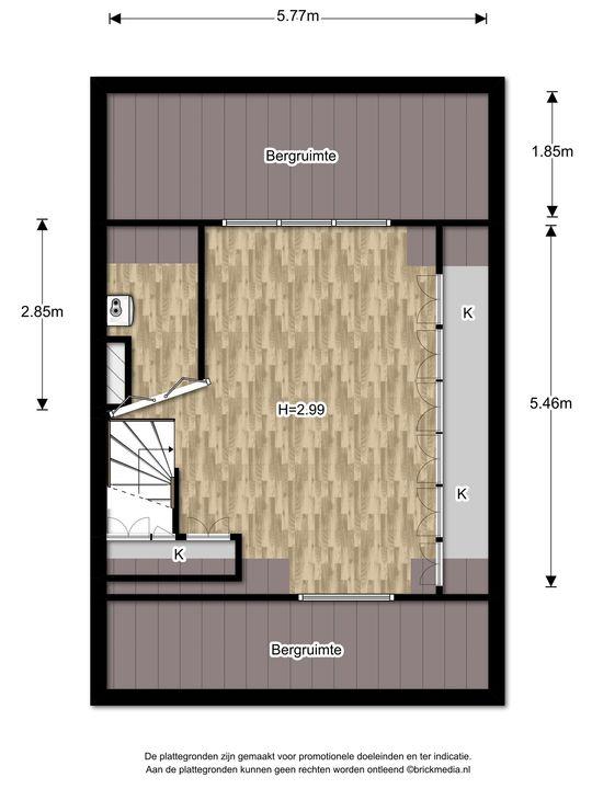 Mauvelaan 3, Leidschendam floorplan-2