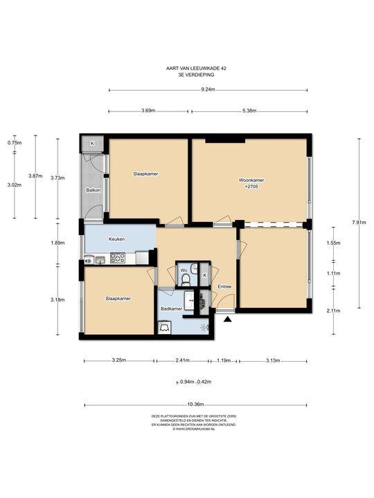 Aart van der Leeuwkade 42, Voorburg floorplan-0