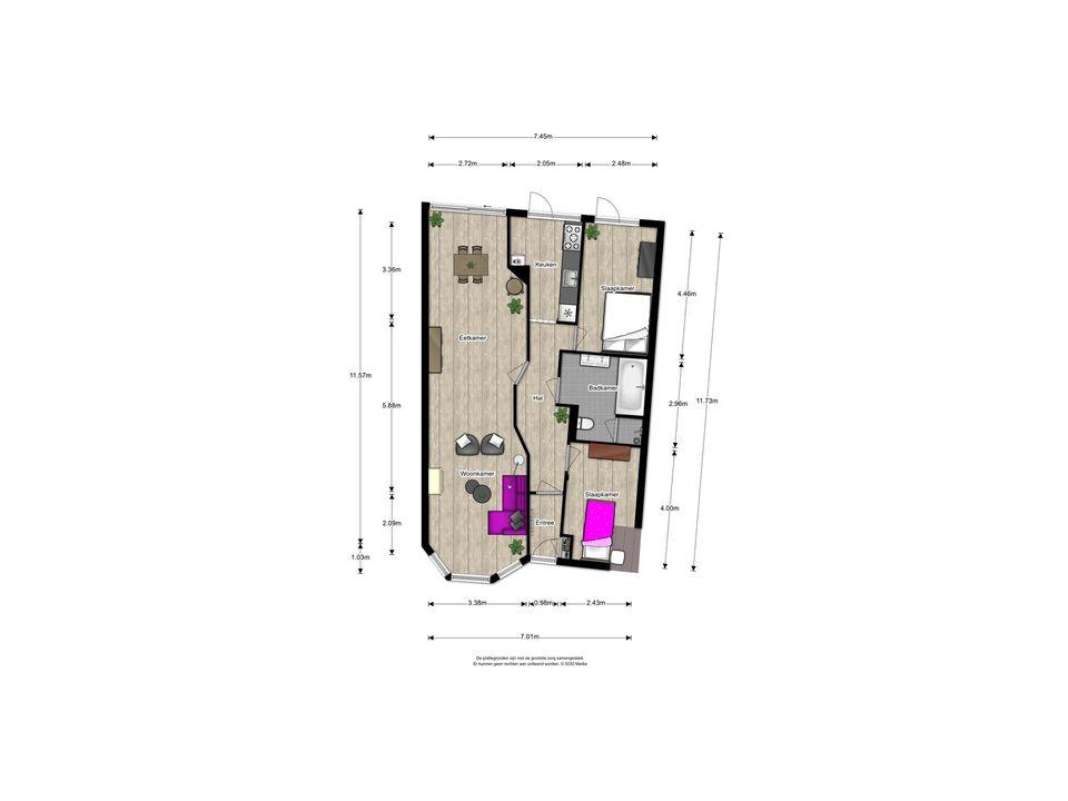van Halewijnlaan 185, Voorburg floorplan-0