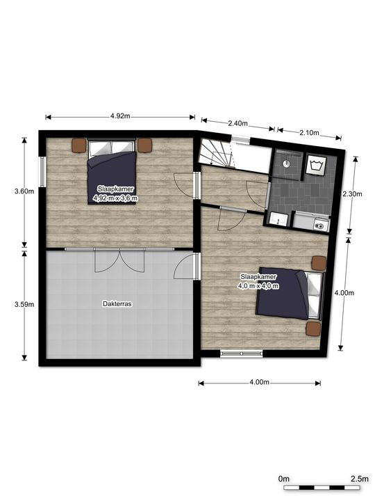 Via Cimarosa 16, Voorburg floorplan-2