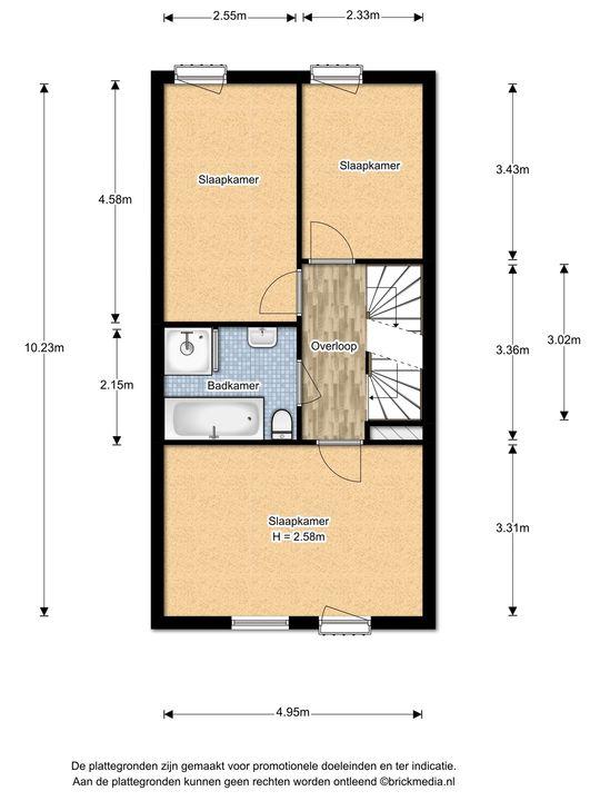 Zonnehof 14, Nootdorp floorplan-1