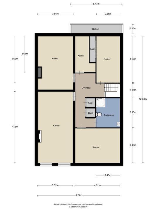 Newtonstraat 519, Den Haag floorplan-0
