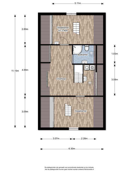 Oosteinde 113, Voorburg floorplan-3