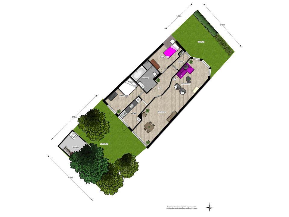 van Halewijnlaan 185, Voorburg floorplan-1