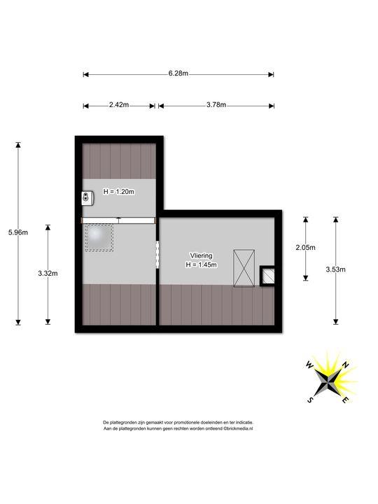 Prinses Mariannelaan 226, Voorburg floorplan-3
