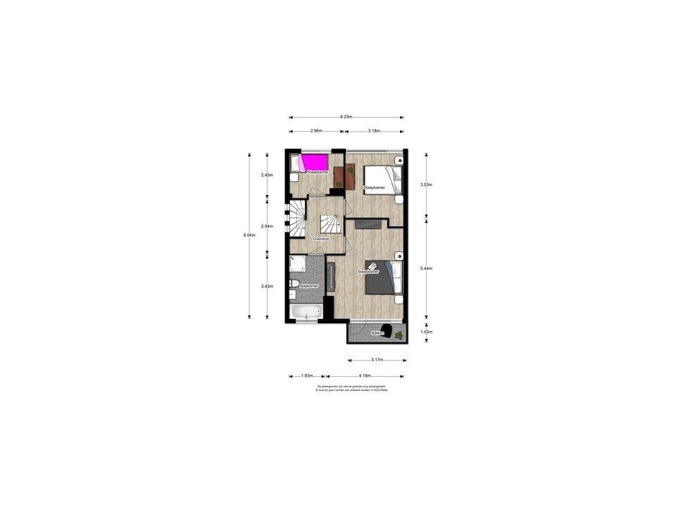 Parkweg 145, Voorburg floorplan-1