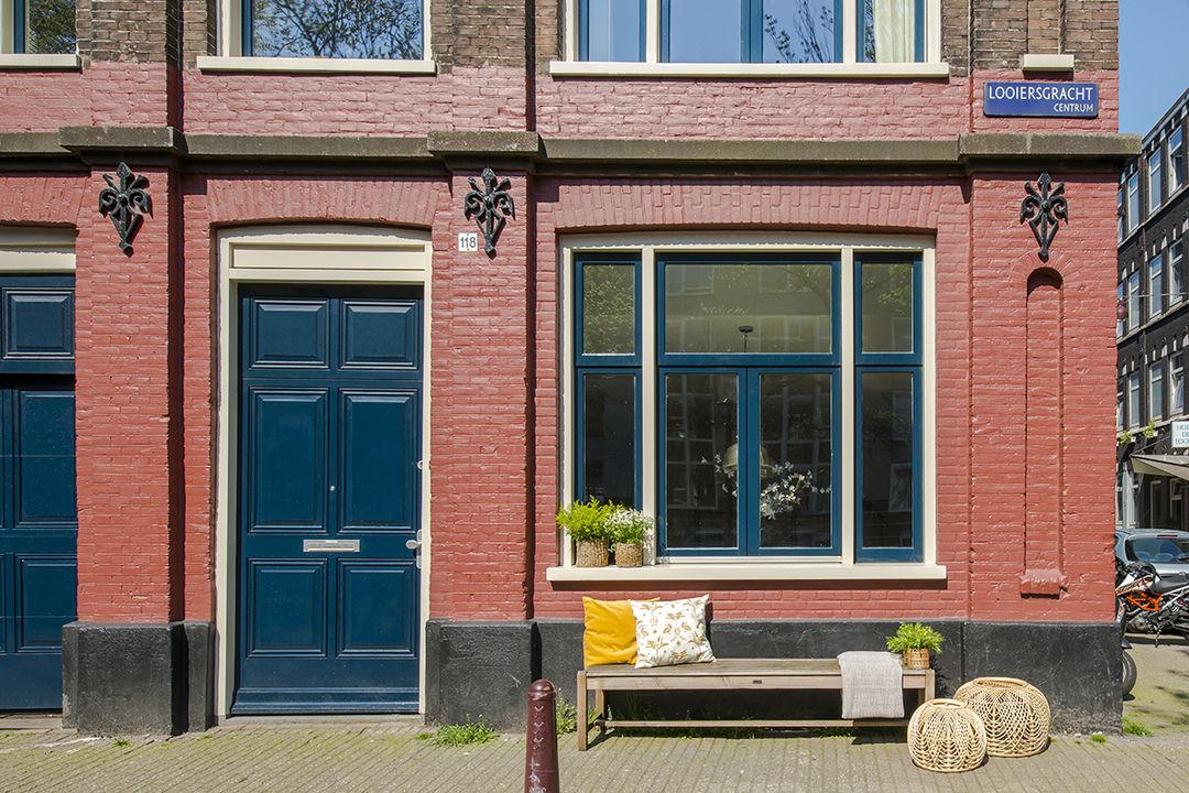 Looiersgracht 118 huis, Benedenwoning in Amsterdam foto-14