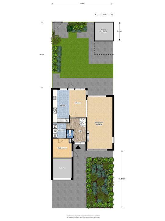 Prins Bernhardlaan 331, Voorburg floorplan-3
