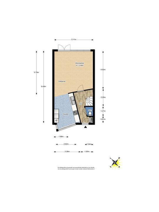 Hendrik van Randwijkstraat 7, Leidschendam floorplan-0