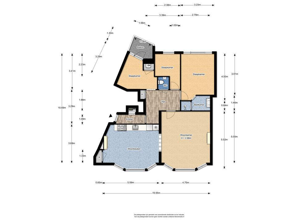 Parkweg 298, Voorburg floorplan-0
