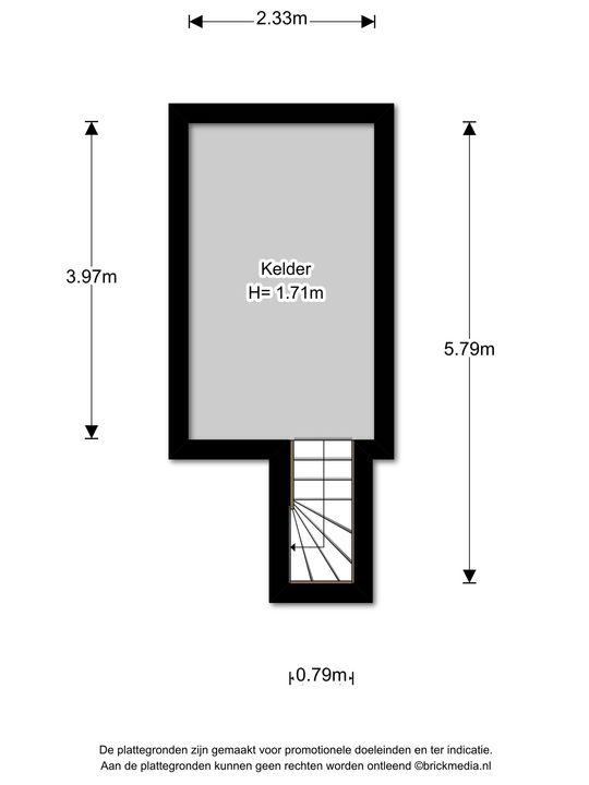 Oosteinde 113, Voorburg floorplan-1