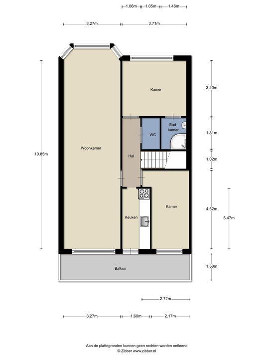 De la Reyweg 647, Den Haag floorplan-0