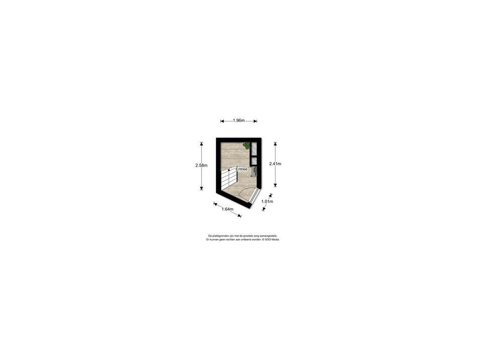 Rembrandtlaan 56, Voorburg floorplan-1