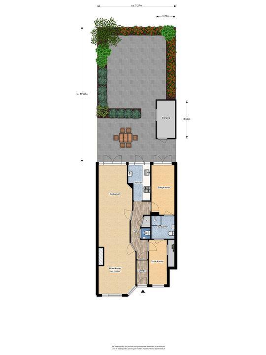 Stuyvesantstraat 250, Den Haag floorplan-1