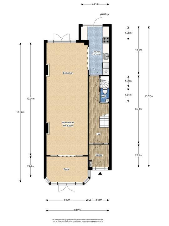 Koninginnelaan 11, Voorburg floorplan-0