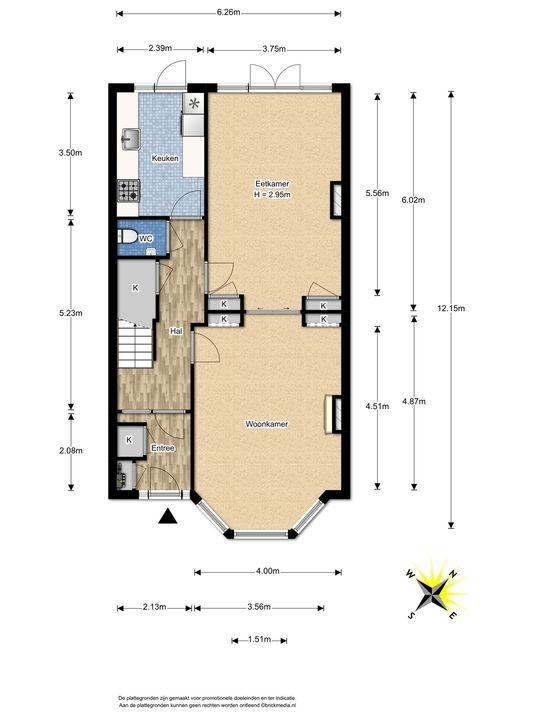 Prinses Mariannelaan 226, Voorburg floorplan-0