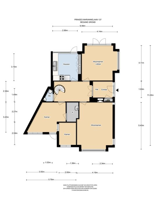 Prinses Mariannelaan 137, Voorburg floorplan-0