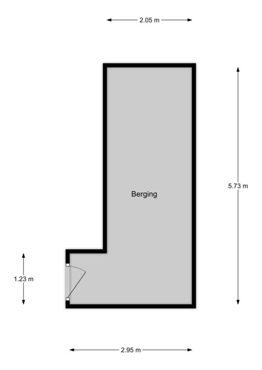 Spinozalaan 1 B-II, Voorburg floorplan-1