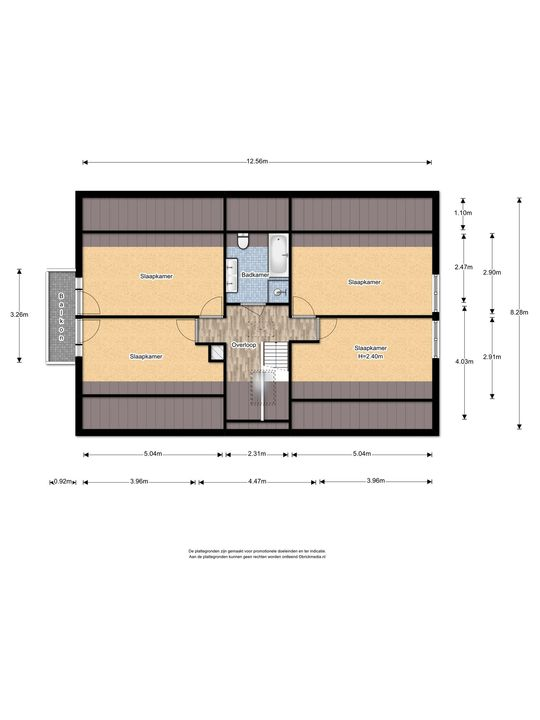 Warmonderhek 5, Warmond floorplan-1