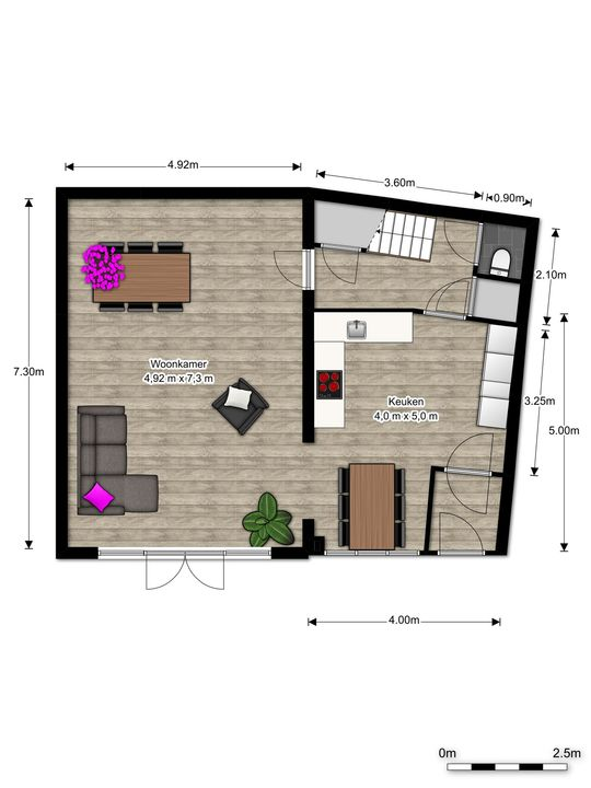Via Cimarosa 16, Voorburg floorplan-0