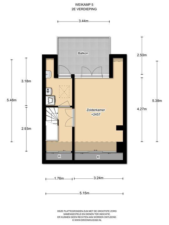 Weikamp 5, Leidschendam floorplan-2