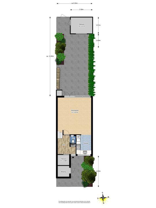 de Oude Bleijk 221, Leidschendam floorplan-3