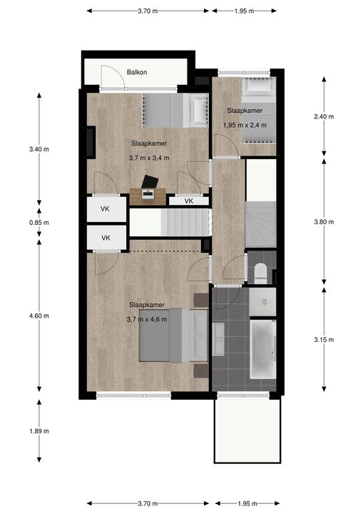 Eemwijkstraat 27, Voorburg floorplan-1