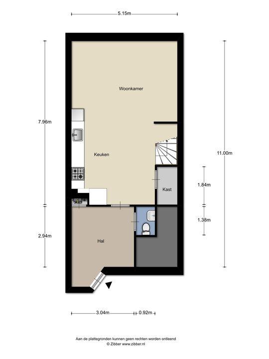 Fischerstraat 359, Den Haag floorplan-0