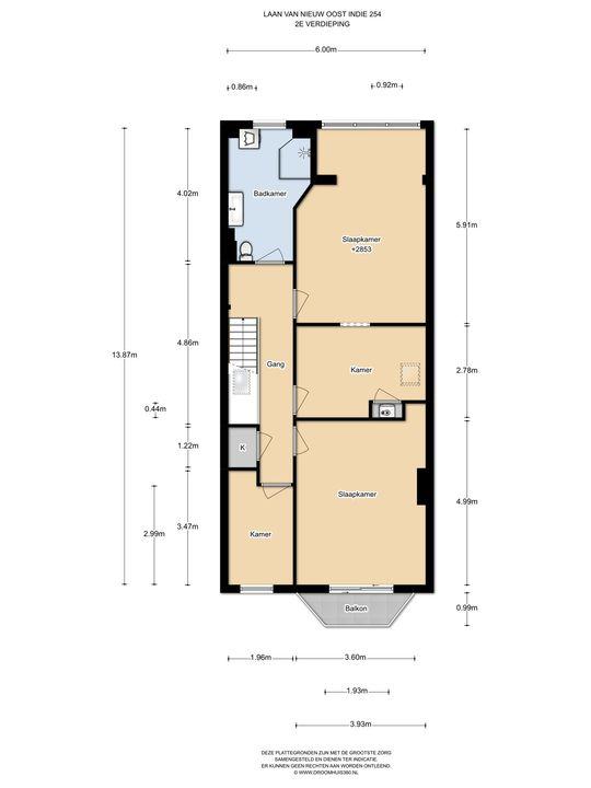 Laan van Nieuw-Oost-Indie 254, Den Haag floorplan-2