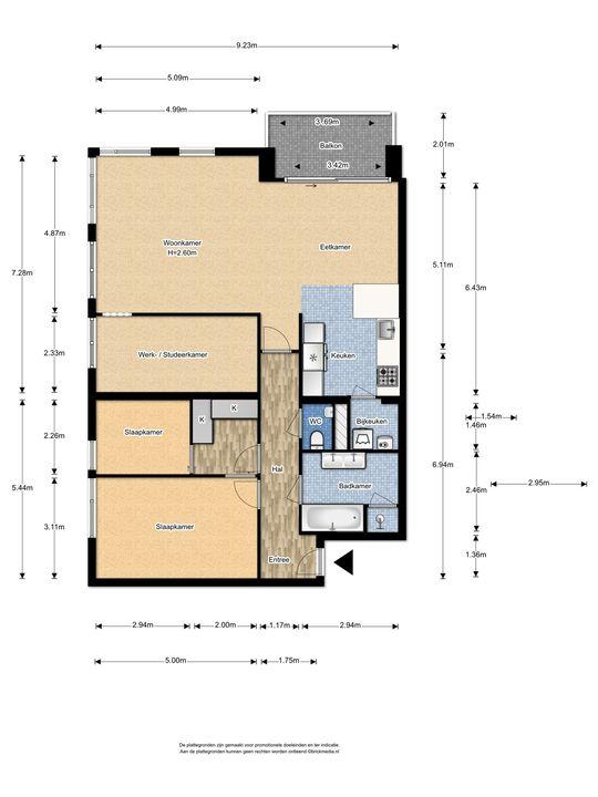 Burgemeester Nederbragtpark 11, Voorburg floorplan-0