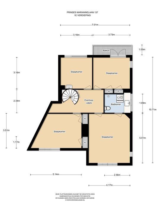 Prinses Mariannelaan 137, Voorburg floorplan-1