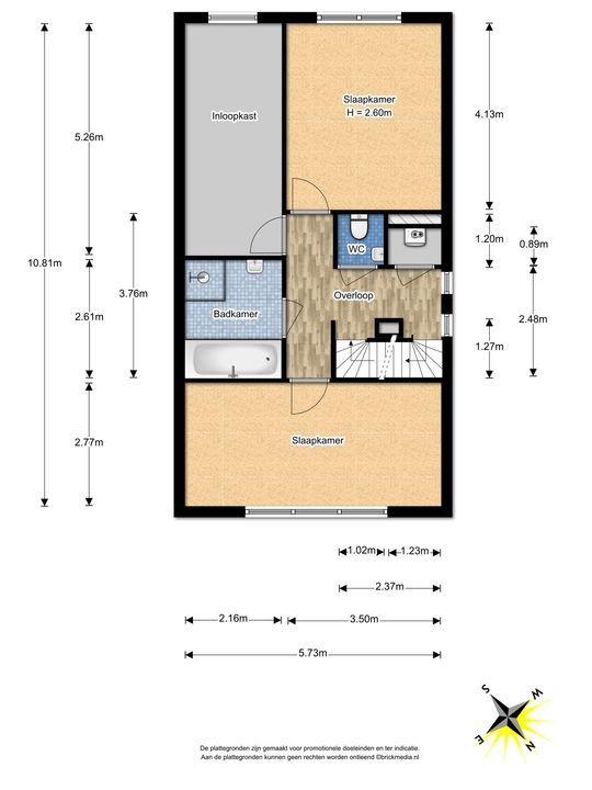 Berkelstroom 115, Zoetermeer floorplan-0