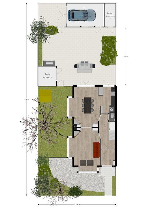 van Pabstlaan 28, Voorburg floorplan-0
