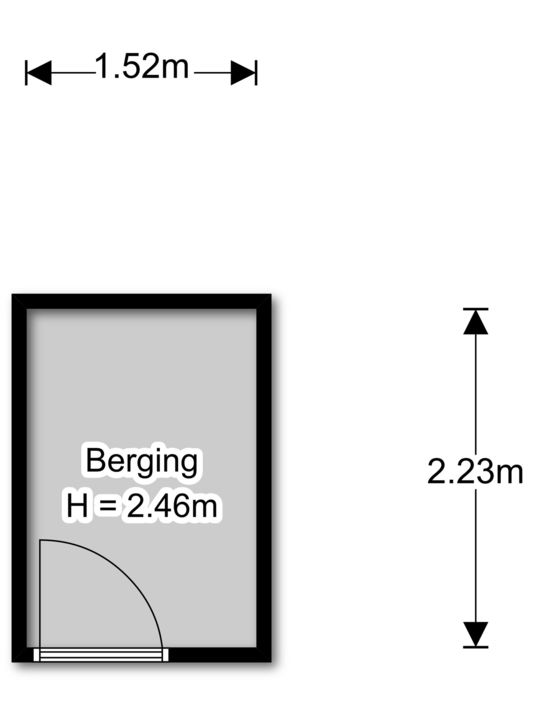 Margarethaland 291, Den Haag floorplan-1