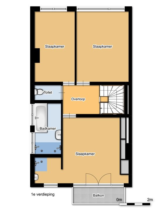 Laan van Oostenburg 25, Voorburg floorplan-1