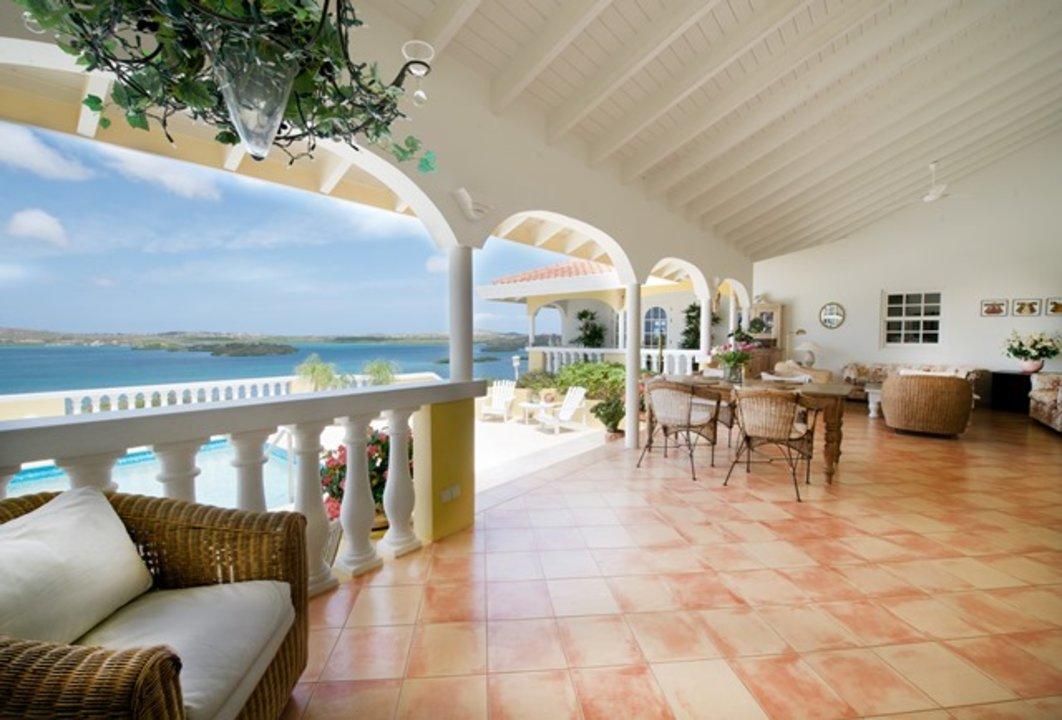 Villa / Casas de paredes comunes por un Venta en Seru Boca Estate 35 Santa Barbara Plantation, Curacao