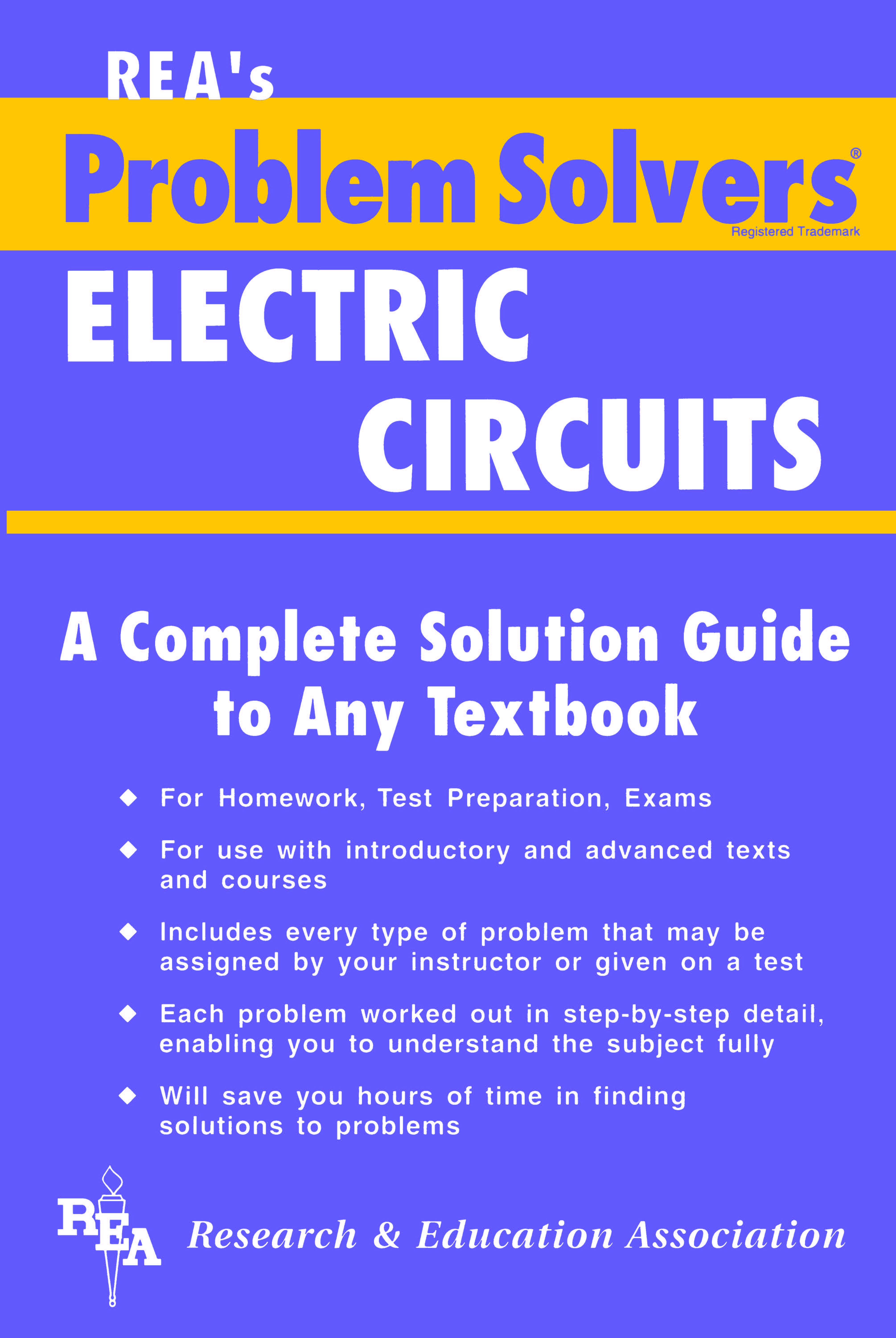 Electric Circuits Problem Solver By Editors Of Rea Read On Glose Electrical Circuit Troubleshooting Basic 4