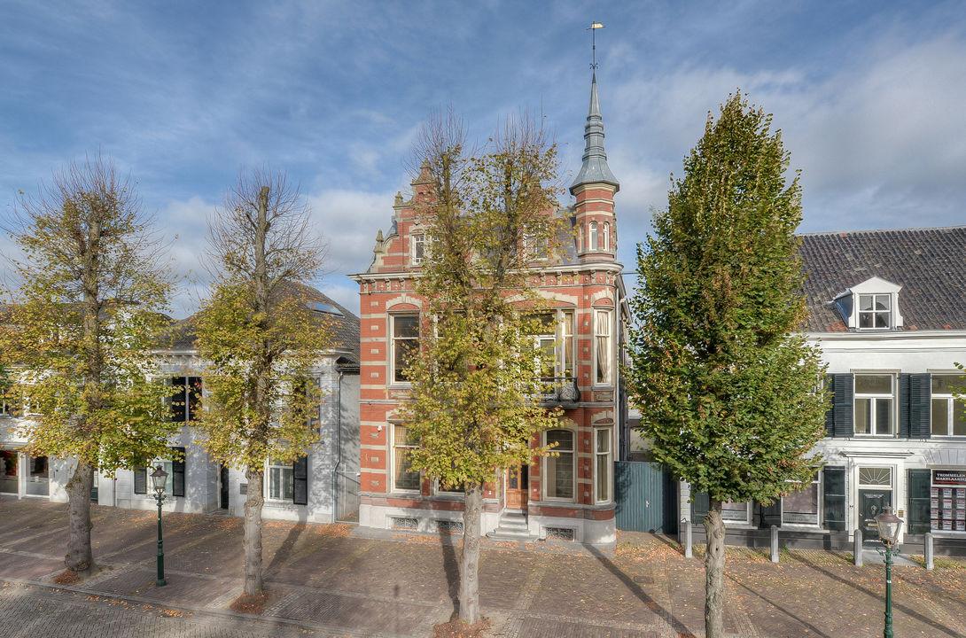 Heuvel 12, Oosterhout NB plattegrond-