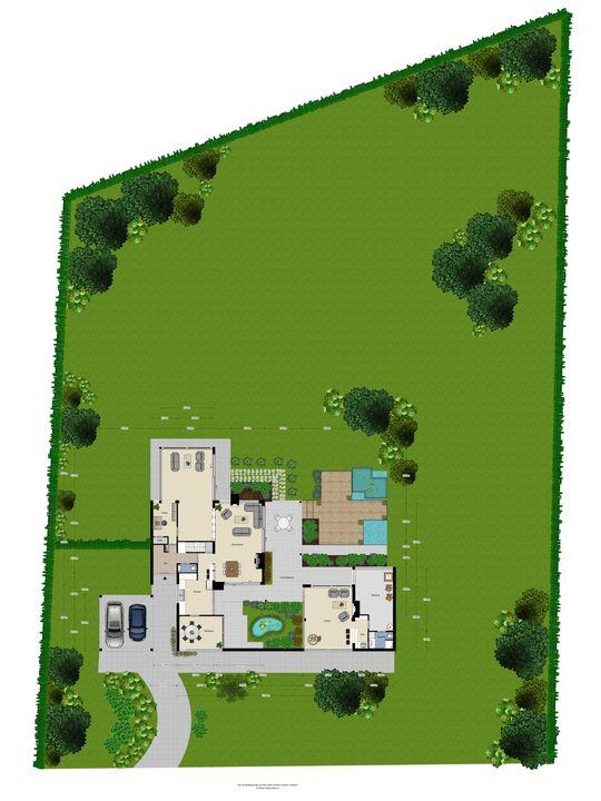 Villapark 10, Geldrop plattegrond-